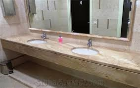Commercial Bathroom Sinks And Countertop Daino Reale Marble Commercial Bathroom Countertop Beige Marble