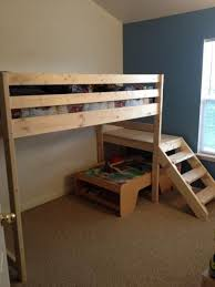 45 best diy queen loft bed images on pinterest 3 4 beds lofted