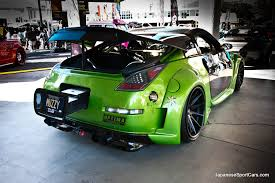 nissan 350z body kits nissan 350z with veilside v3 body kit and rohana rc10 wheels