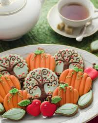 131 best cookies fall images on decorated