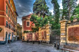 wallpaper italy sestri levante hdr street cities building