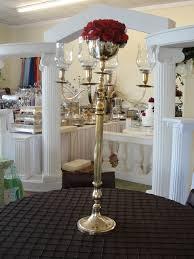 candelabra rentals simply weddings candelabra rentals gold tabletop