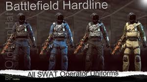 battlefield hardline cop wallpapers battlefield hardline all swat operator uniforms youtube
