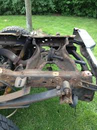 homemade 4x4 truck fixing rusted bed rails ford truck enthusiasts forums