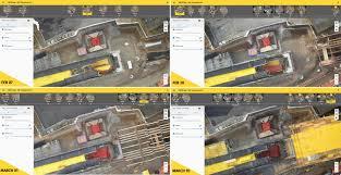six major construction companies adopt new crane based pix4d bim