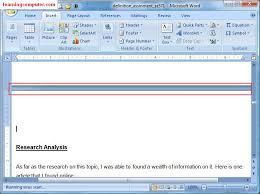 learn microsoft word 2007 insert tab it distance learning