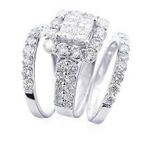 wedding ring trio sets outstanding wedding ring trio sets 19 about remodel wedding