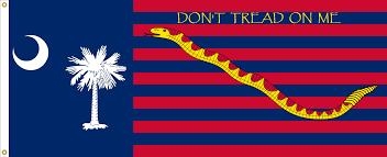 Don T Tread On Me Flag Origin Image South Carolina State Flag Proposal No 19 Designed By