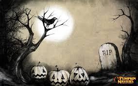 image gallery halloween graveyard