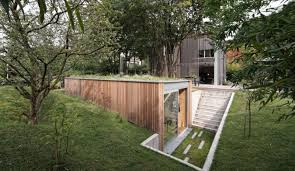 Office Garden Shed Shedworking Underground Garden Office Atelier Pam U0026jenny
