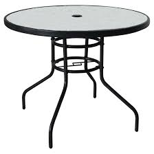 Table Patio Stunning Table De Patio Furniture Steel 38 Square Glass Jpg