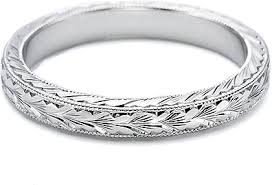 hand engraved rings images Tacori hand engraved wedding band u5045plt png