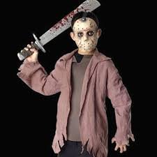Zombie Slayer Halloween Costume Jason Voorhees Halloween Costume Scary Halloween Costumes