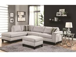 Tufted Sectional Sofa Chaise by Living Room Leather Suede Sectional Sofa Coaster Sectional