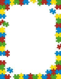 printable paper puzzles puzzle border clipart free clipartsgram com rámečky pinterest