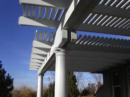 Lattice Patio Cover Design by Custom Patio Covers Reno All Metal Builders