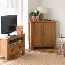 lyon petite oak corner cupboard 596 098 with free delivery the
