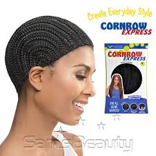 hairstlye of straight back vivica fox cornrow express straight back regular cap samsbeauty