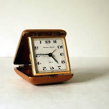best vintage phinney walker travel alarm clock still works tes