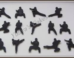 karate cake topper or karate cake topper martial arts party decorations