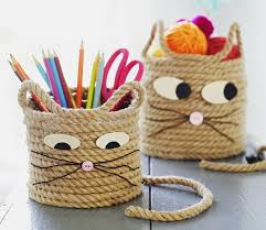 easy craft for cat storage baskets storage baskets