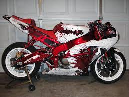 custom motorcycle bike vinyl wrap service