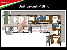 mahindra luminare floor plan floorplan in