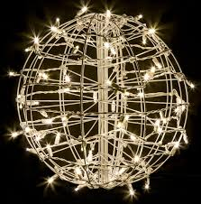 crab pot trees fold flat sphere with 75 led lights