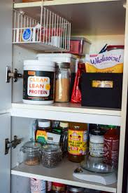 narrow depth kitchen storage cabinet how to organize a pantry a simplified