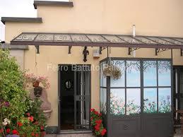 tettoia ferro battuto tettoie pensiline in ferro battuto a cugliate varese nuova ferpa
