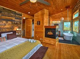 romantic modern cabin with indoor pool spa and amazing mountain