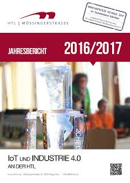 Sch E K Hen Jahresbericht Der Htl Mössingerstraße 2016 2017 By Htl