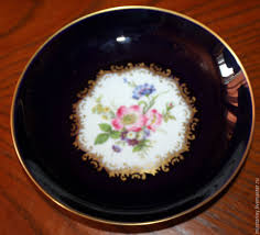 schumann cuisine beautiful porcelain dish with flowers cobalt schumann germany
