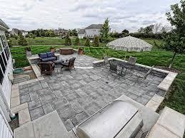 Bluestone Patio Pavers Lake County Il Unilock Patio Pavers Brick Paver Patios Designs