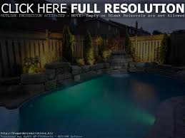 above ground pool landscaping ideas christmas lights decoration