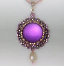 beading tutorial jewelry pendant pattern instructions