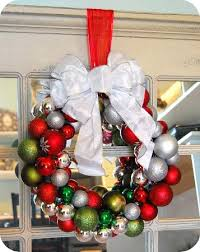 glass ornament wreath tutorial