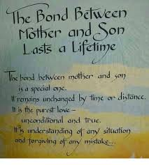 Mother And Son Meme - the bond between mother and son lasts a lifetime lhe bond between