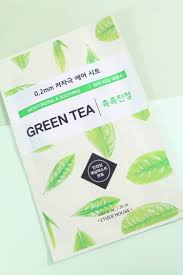 ing ieur bureau d ude etude house green tea moisturizing soothing therapy air mask