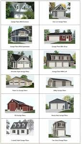 house plan two car garage with workshop striking 20 119 front