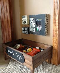 Make A Wooden Toy Box by The 25 Best Dog Toy Box Ideas On Pinterest Diy Dog Dog Station