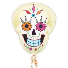 Halloween Day Decoration Halloween Day Of Dead Supershape Foil Balloon Decoration Skeleton