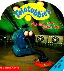 noonoo tidies lifttheflap book teletubbies unknown