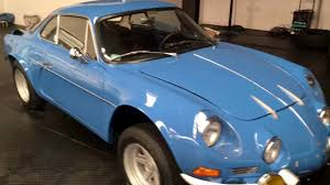 alpine a110 for sale alpine a110 year 1965 youtube