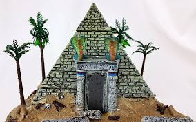 Lemax Halloween Houses by Lemax Spooky Town Haunted Pyramid Animated Musical Halloween