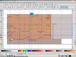 Simpsons Floor Plan Web Savage Using Inkscape To Draw Floor Plans