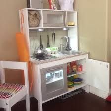ikea duktig play kitchen hack crafting pinterest plays