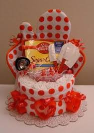 kitchen gift basket from the dollar tree good for showers and my