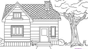 drawing a house simple drawing of a house how to draw a house in 3d for kids