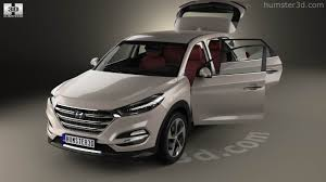 360 View Of Hyundai Tucson With Hq Interior 2016 3d Model Hum3d